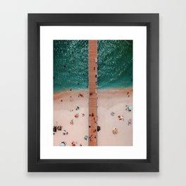 Hello Ocean Framed Art Print