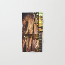 manhattan bridge skyline Hand & Bath Towel