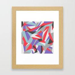 Contemporary Geometry Framed Art Print