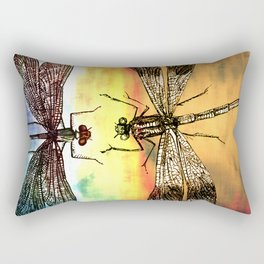 DRAGONFLY meets a Friend Rectangular Pillow
