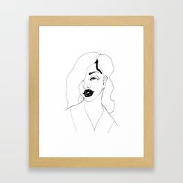 Bang Bang Girls Framed Art Print