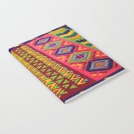 Colorful Guatemalan Alfombra Notebook