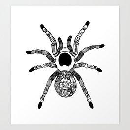 Henna Spider Art Print