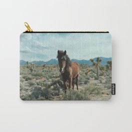 Nevada Desert Horse Carry-All Pouch