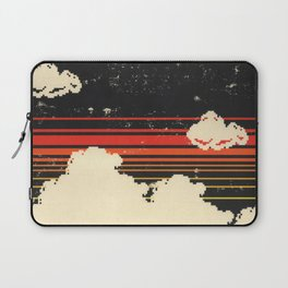 Clouds in the Sky at Night Laptop Sleeve