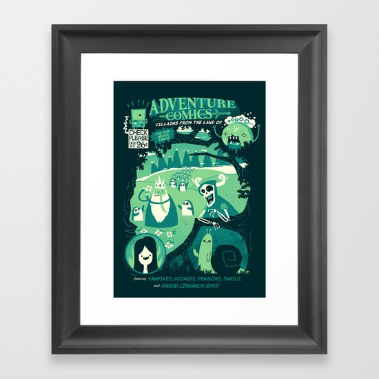 Adventure Comics Framed Art Print