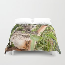 Australia's 'Native Bear', Koala, Australia Duvet Cover