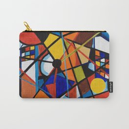 Lines and Circles Carry-All Pouch
