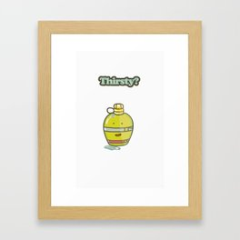 Happy Canteen  Framed Art Print