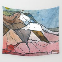 rocky Wall Tapestries featuring Rocky by Tonya Doughty
