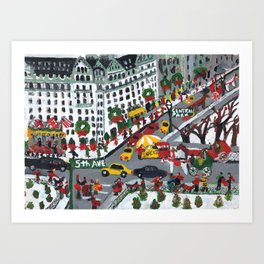 5th Ave And 59 Art Print