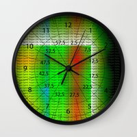 vegan Wall Clocks featuring Vegan Style by Ars Infinity - @ Roland Zulehner