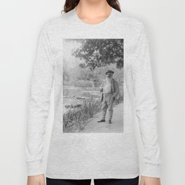 Claude Monet a Giverny Long Sleeve T-shirt