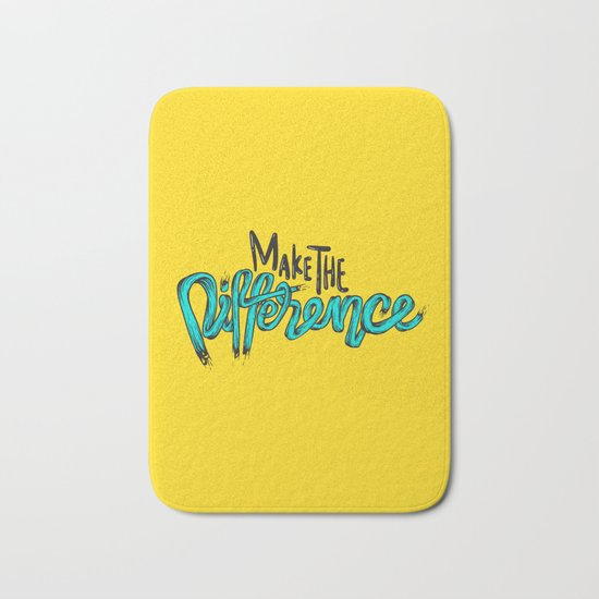 Make The Difference 1 Bath Mat