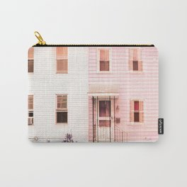 Twin Houses Carry-All Pouch