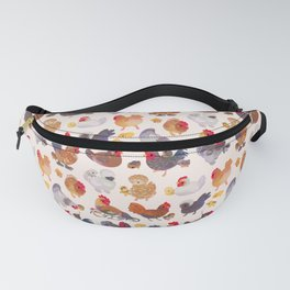 Chicken and Chick Fanny Pack