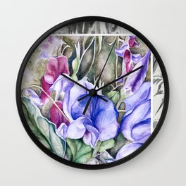 Lathyrus 6 Wall Clock