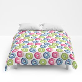 Donuts 2 Pattern Comforters