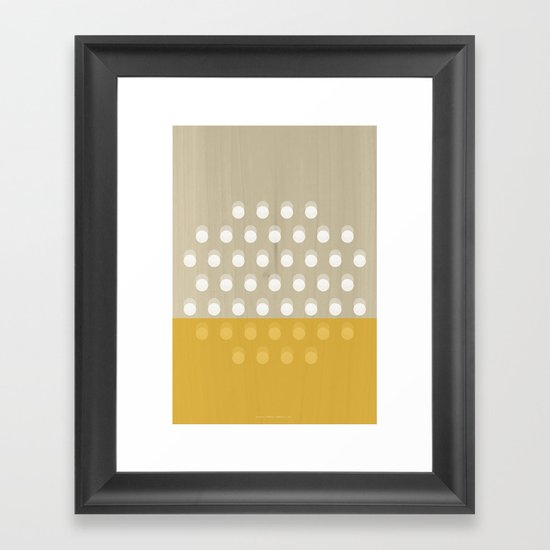 Dots Framed Art Print
