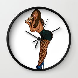 JACK - HEARTS Wall Clock