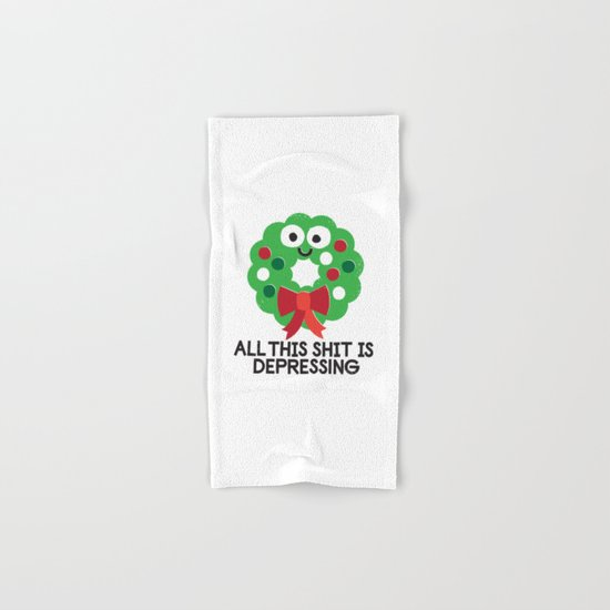 Ho Ho Hopeless Hand & Bath Towel