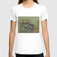 sea turtle T-shirts featuring Sea Turtle by Michael Creese