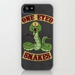 One Eyed Snakes iPhone Case