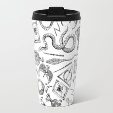 Harry Potter Horcruxes and Items Travel Mug