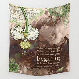 Begin it... Wall Tapestry