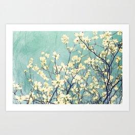 Purely Spring Art Print