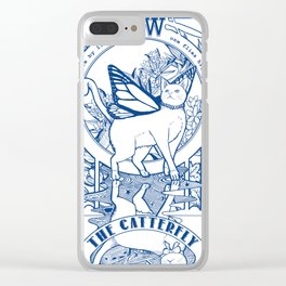 The Catterfly Clear iPhone Case