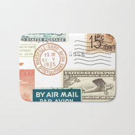 Airmail Bath Mat