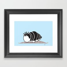 Kittypillar Framed Art Print