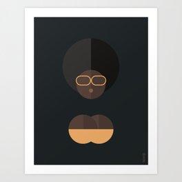 BLACK MAGIC WOMEN / Ashaki Art Print