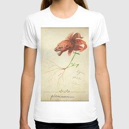 Planimarium -tigris striatus lilium T-shirt