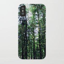 Vivid Tall Tall Trees iPhone Case