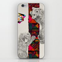 kris tate iPhone & iPod Skins featuring The Innocent Wilderness by Peter Striffolino and Kris Tate by Peter Striffolino