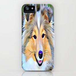 The Shetland Sheepdog iPhone Case