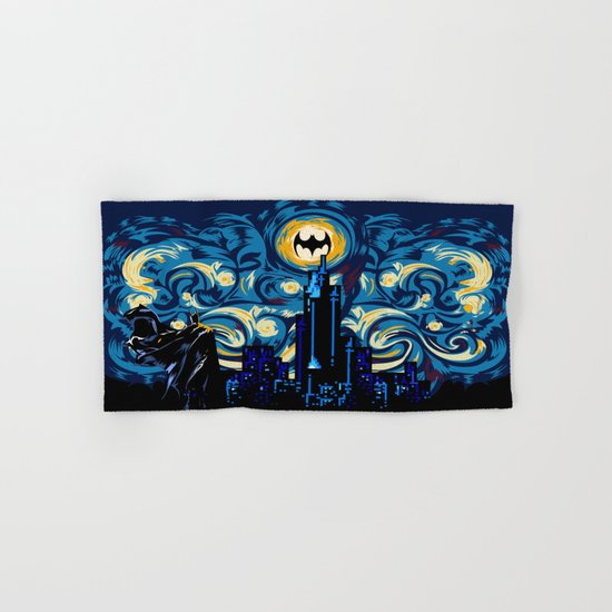 Starry Knight iPhone 4 4s 5 5c 6, pillow case, mugs and tshirt Hand & Bath Towel