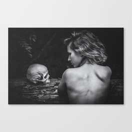 Throughout Canvas Print