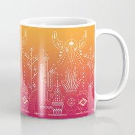 Santa Fe Garden – Orange Sunset Coffee Mug