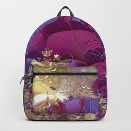 Feelings of being in love -- Fractal illustration Backpack