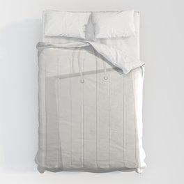 White shopping bag Comforters