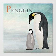ABC Poster P - Penguin Canvas Print