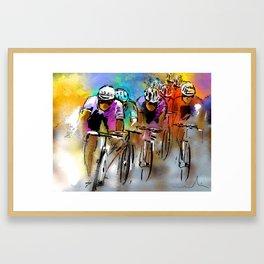 Le Tour De France 03 Framed Art Print
