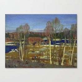 Tom Thomson Larry Dickson's Cabin 1917 Canadian Landscape Artist Canvas Print