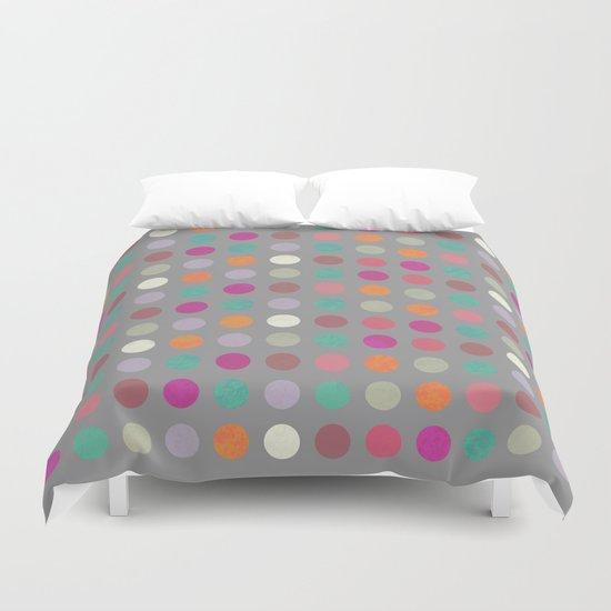 Colorful Circles IV Duvet Cover
