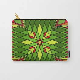 Poinsettia Flower Carry-All Pouch