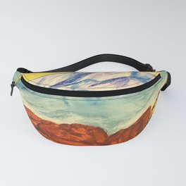 Pikes Peak at Sunset  Fanny Pack