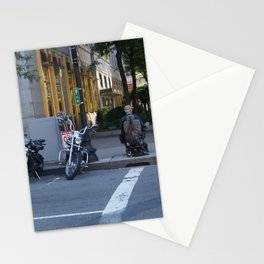 Wheels in the City Stationery Cards